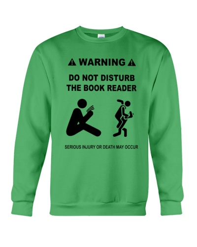 DO NOT DISTURB THE BOOK READER