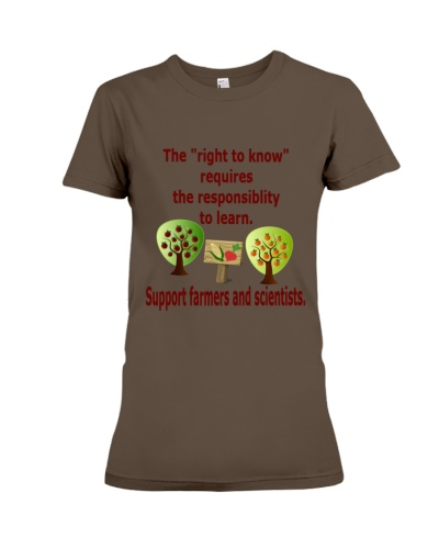 The right to know requires responsibility to learn