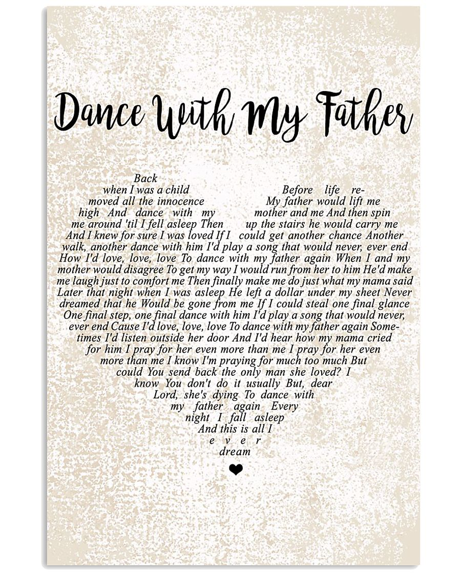 Luther Vandross - Dance With My Father 11x17 Poster