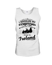 I Googled My Symptoms - To Go To Ireland Unisex Tank thumbnail