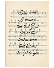 Rascal Flatts - Bless The Broken Road 11x17 Poster front