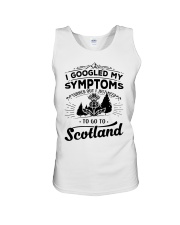 I Googled My Symptoms - To Go To Scotland Unisex Tank thumbnail