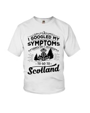 I Googled My Symptoms - To Go To Scotland Youth T-Shirt thumbnail