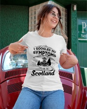 I Googled My Symptoms - To Go To Scotland Ladies T-Shirt apparel-ladies-t-shirt-lifestyle-01