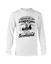 I Googled My Symptoms - To Go To Scotland Long Sleeve Tee thumbnail