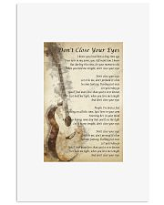 Don't Close Your Eyes - Keith Whitley 11x17 Poster front
