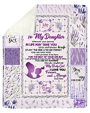 "Love You To The Moon And Back Sherpa Fleece Blanket - 50"" x 60"" thumbnail"