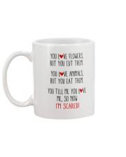 Love You - Funny Mug back