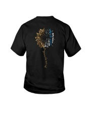 You Are My Sunshine Blue Line Leopard Youth T-Shirt thumbnail