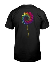 You Are My Sunshine Tie Dye Sunflower Classic T-Shirt thumbnail