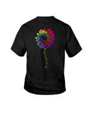 You Are My Sunshine Tie Dye Sunflower Youth T-Shirt thumbnail