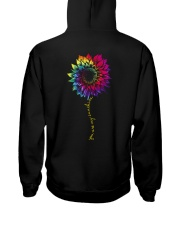 You Are My Sunshine Tie Dye Sunflower Hooded Sweatshirt back