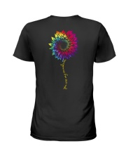 You Are My Sunshine Tie Dye Sunflower Ladies T-Shirt thumbnail