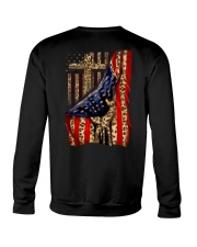 Jesus Cross Flag Hand Crewneck Sweatshirt thumbnail