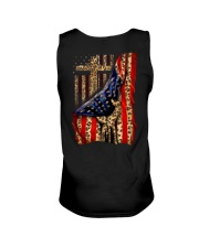 Jesus Cross Flag Hand Unisex Tank tile