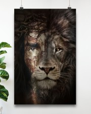 Jesus And Lion 15 11x17 Poster aos-poster-portrait-11x17-lifestyle-19