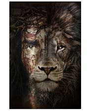 Jesus And Lion 15 11x17 Poster front