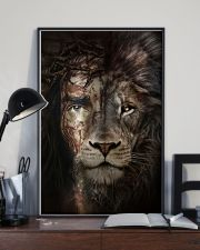 Jesus And Lion 15 11x17 Poster lifestyle-poster-2