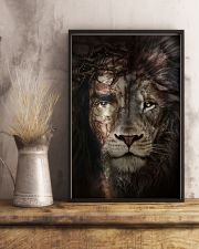 Jesus And Lion 15 11x17 Poster lifestyle-poster-3