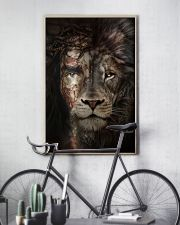 Jesus And Lion 15 11x17 Poster lifestyle-poster-7
