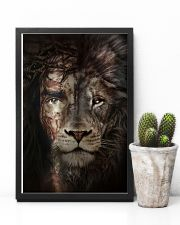 Jesus And Lion 15 11x17 Poster lifestyle-poster-8