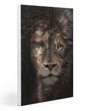 Jesus And Lion 15 Gallery Wrapped Canvas Prints tile