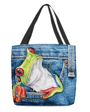 Frog Jean All - Over Tote All-over Tote back