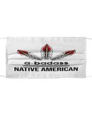 Native Abadass Sticker Cloth face mask thumbnail