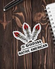 Native Abadass Sticker Sticker - Single (Vertical) aos-sticker-single-vertical-lifestyle-front-05