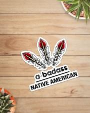 Native Abadass Sticker Sticker - Single (Vertical) aos-sticker-single-vertical-lifestyle-front-07