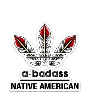 Native Abadass Sticker Sticker - Single (Vertical) front
