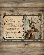 Custom Name Buck And Doe Once Upon A Time 17x11 Poster poster-landscape-17x11-lifestyle-14