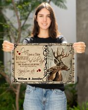 Custom Name Buck And Doe Once Upon A Time 17x11 Poster poster-landscape-17x11-lifestyle-19