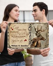 Custom Name Buck And Doe Once Upon A Time 17x11 Poster poster-landscape-17x11-lifestyle-20