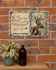 Custom Name Buck And Doe Once Upon A Time 17x11 Poster poster-landscape-17x11-lifestyle-23