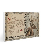 Custom Name Buck And Doe Once Upon A Time Gallery Wrapped Canvas Prints tile