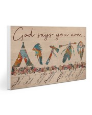 Native God Says You Are Gallery Wrapped Canvas Prints tile
