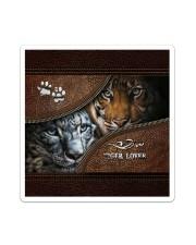 Tiger Lover  Sticker tile