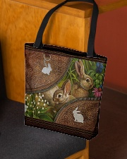 Love Rabbit Animal For Rabbit Lovers All-over Tote aos-all-over-tote-lifestyle-front-02
