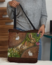 Love Rabbit Animal For Rabbit Lovers All-over Tote aos-all-over-tote-lifestyle-front-10