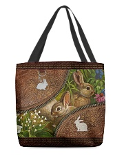 Love Rabbit Animal For Rabbit Lovers All-over Tote back