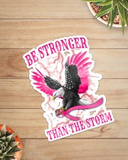 Breast Cancer Eagle Be Stronger Than The Storm Sticker - Single (Vertical) aos-sticker-single-vertical-lifestyle-front-07