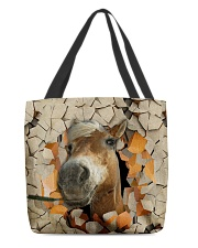 Peeking Funny Horse All-over Tote back