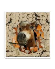 Peeking Funny Horse Sticker tile