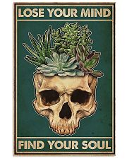 Succulent Lose Your Mind Find Your Soul  11x17 Poster front