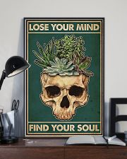 Succulent Lose Your Mind Find Your Soul  11x17 Poster lifestyle-poster-2
