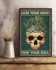 Succulent Lose Your Mind Find Your Soul  11x17 Poster lifestyle-poster-3