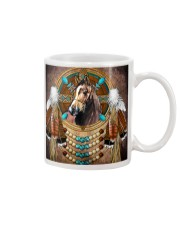 Horse Native  Mug tile