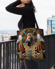 Horse Native  All-over Tote aos-all-over-tote-lifestyle-front-05