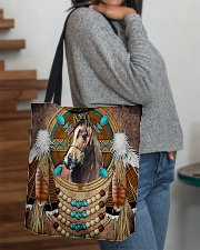 Horse Native  All-over Tote aos-all-over-tote-lifestyle-front-09